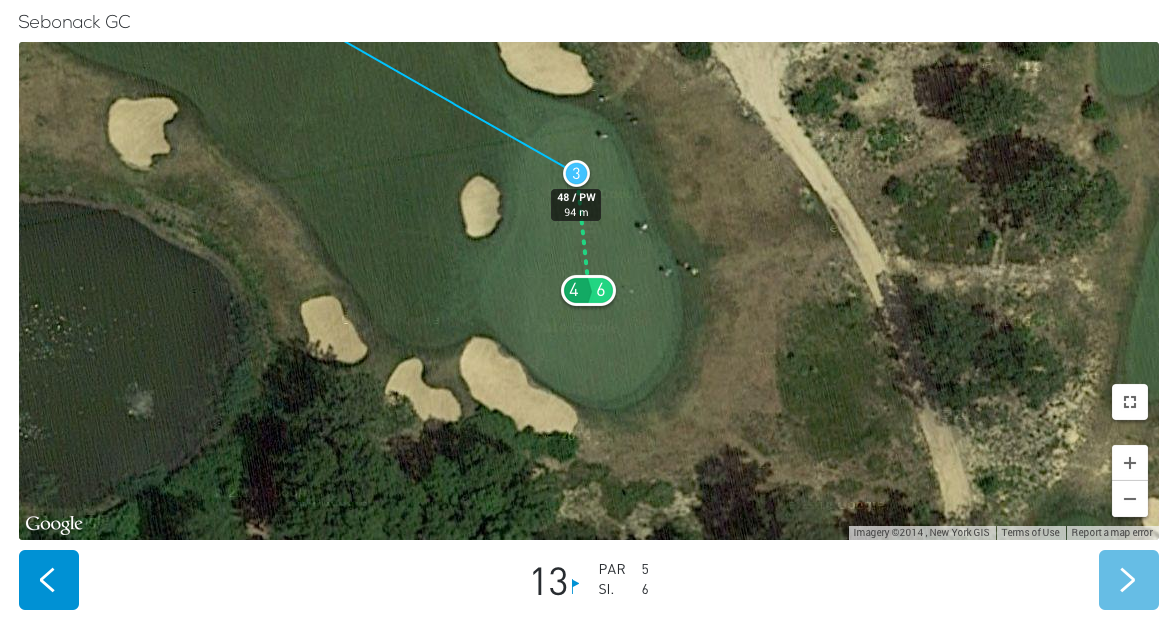 Sebonack GC in Hole19 2